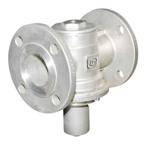 ACTIVATED PRESSURE RELIEF VALVE FLANGED END