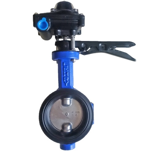 BUTTERFLY VALVE WITH LIMIT SWITCH