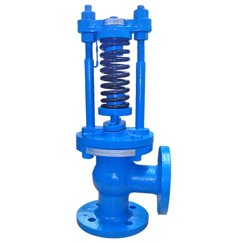 Cast Iron Wrench Operated Relief Valve Right Angle Type