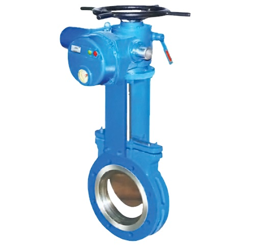 Kinfe Gate Valve Multi-Turn Electrical Actuator Operated