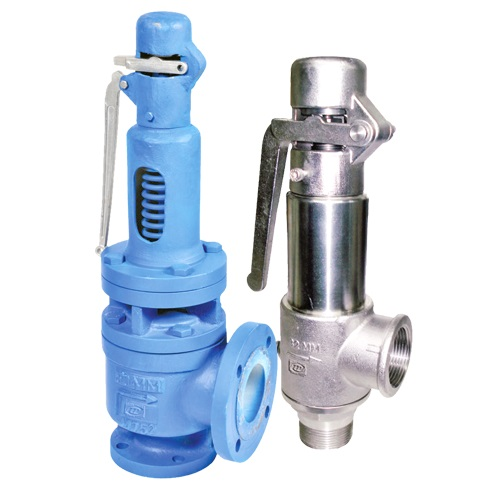 POP TYPE SAFETY VALVE SCREWED / FLANGED