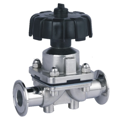 S/STEEL INVESTMENT CASTING DIAPHRAGM VALVE