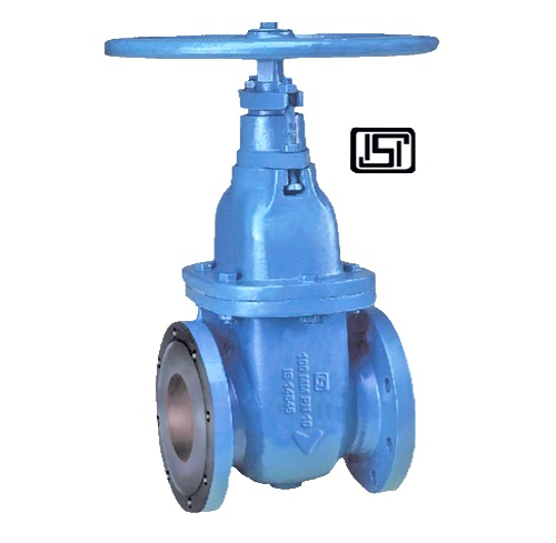 SLUICE VALVE WITH ISI MARK (NON RISING SPINDLE)