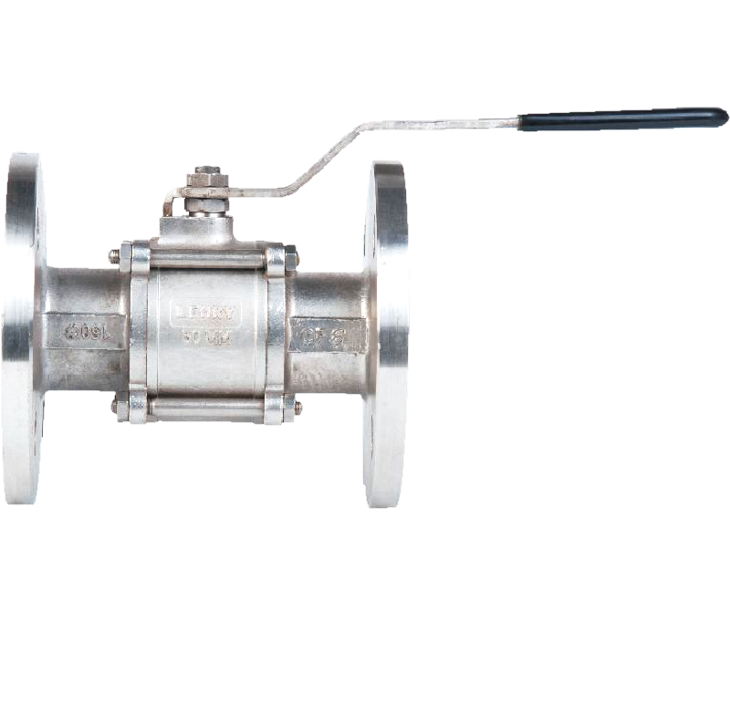THREE PIECE DESIGN BALL VALVE